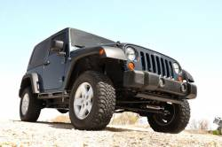 Rough Country - Rough Country 07-18 Jeep Wrangler JK Bumper Caps - 1047 - Image 2