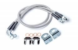 "Brakes & Accessories - Jeep Wrangler TJ 97-06 - TeraFlex - TeraFlex 97-16 Jeep Wrangler JK / TJ Front Brake Line Kit - 26""  -4353310"