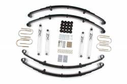 "Zone Offroad - Zone Offroad 2"" Jeep Wrangler 4WD Gas YJ 87-95 Suspension Kit By Zone Offroad - J27N"
