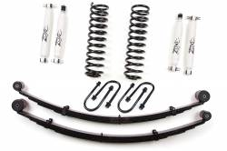 "Featured Products - Zone Offroad - Zone Offroad 3"" Jeep Cherokee XJ 84-01 Suspension Lift Kit with Rear Leaf Springs By Zone Offroad  - J21 / J22"