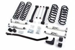 "Jeep - Jeep WJ Grand Cherokee 99-04 - Zone Offroad - Zone Offroad 4"" Lift Kit System for 99-04 Jeep Grand Cherokee WJ - J17"