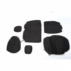 Seat Cover Rear 4 Door Jeep Wrangler JK 07-15 Black  -13264.01