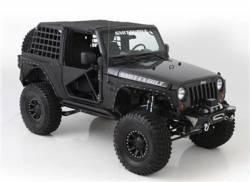 Smittybilt - Smittybilt XRC Rock Sliders With Tube - Fits Jeep Wrangler JK 2 DOOR 07-16 - Image 3