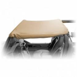 Jeep Tops & Hardware - Jeep Wrangler JK 2 Door 07+ - Rugged Ridge - Summer Pocket Brief Top, Kahaki Diamond, Rugged Ridge, JK Wrangler 07-09 2-Door  -13587.36