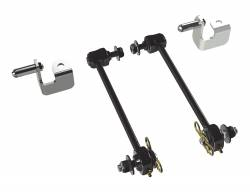 "Suspension Build Components - Sway Bars & Components - TeraFlex - TeraFlex Jeep Wrangler JK Front Swaybar Quick Disconnects 3-4"" Kit   -1753000"