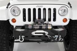 Jeep Wrangler JK 07-PRESENT - Front Bumpers & Stingers - Smittybilt - XRC M.O.D. Modular Center Section with Winch Plate Jeep JK Wrangler, Rubicon and Unlimited 2007-16 By Smittybilt    -76825