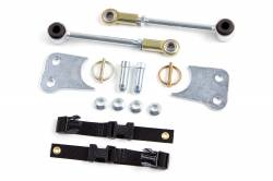 """Suspension Build Components - Sway Bars & Components - Zone Offroad - Zone Front Sway Bar Disconnects for 3"""" to 4.5"""" Lift 07-15 Jeep JK Wrangler    -J5313"""