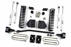 "FORD - 2005-14 Ford F250, F350 Super Duty - Zone Offroad - Zone Offroad 4"" Suspension Lift System Ford  11-16 F250/F350 Diesel & Gas - F16/F18"