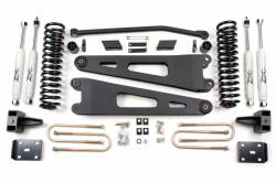 "FORD - 2005-14 Ford F250, F350 Super Duty - Zone Offroad - 4"" Ford 11-16 F250/F350 Radius Arm Suspension System     -F25/F26"