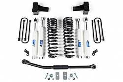"""F250 / F350 - 2011-2016 - BDS Suspension - BDS 2.5"""" Coil Spring Lift System - 11 - 16 Ford F250/F350 4WD - 1510H"""