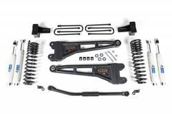 "FORD - 2005-14 Ford F250, F350 Super Duty - BDS Suspension - BDS Suspension 2011-16 Ford F250 4WD ONLY 2.5"" Radius Arm Suspension System - 1509H"