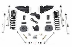 "DODGE - 2013-2016 1/2 Ton Pickup - Zone Offroad - Zone Offroad 4"" Suspension System Lift Kit for 2014-17 Ram 2500 (GAS) - D62"
