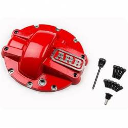 Differential Covers & Armor - Ford - ARB 4x4 Accessories - ARB Ford 8.8 Iron Red Differential Cover