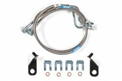 "FORD - 2009-16 Ford F150 - BDS Suspension - BDS Suspension Front Stainless Steel Brake lines for 11-15 Ford F150 with 4""-8"" Lift - 103802"