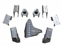 TeraFlex - TeraFlex Axle Bracket Kit Jeep Wrangler JK Rear CRD60 Axles  -3990007