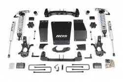 """4WD - 2014-2018 - BDS Suspension - BDS Suspension 4"""" Coil-Over Suspension System for 2014-17 Chevy/GMC 1500 4wd - 712F"""