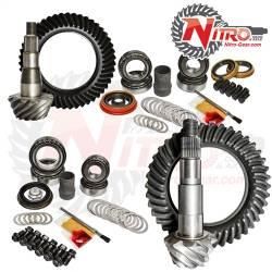 Nitro Front & Rear Gear Package Kit 2011-2015 GM 2500/3500HD w/Duramax, Choose Ratio