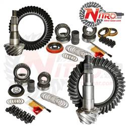 DODGE - 2013-2016 RAM 1 TON - Nitro Gear & Axle - Nitro Front & Rear Gear Package Kit 2013-2015 Dodge Ram 2500/3500 with Cummins Diesel, (Choose Ratio)