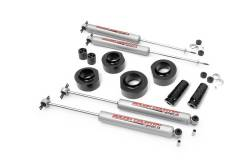 "Jeep ZJ Grand Cherokee 93-98 - Rough Country - Rough Country - Rough Country 1993-1998 Jeep ZJ Grand Cherokee 1.5"" Suspension Lift Kit   -685.20"
