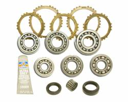 Transfer Cases & Accessories - Transfercase Bearing Overhaul Kits - TRAIL-GEAR - TRAIL-GEAR Transmission Rebuild Kit Syncro, Samurai     -105042-3-KIT
