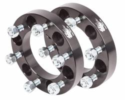 "Wheel Spacers & Adapters - Toyota FJ Cruiser, IFS 4Runner, Tacoma, Tundra, Sequoia - TRAIL-GEAR - TRAIL-GEAR Wheel Spacer Kit, Toyota 1.00"" 6x5.5"