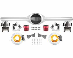 Differential & Axle - Axle Housings - TRAIL-GEAR - TRAIL-GEAR Rock Assault Trail Nine Roller Kit, (Choose Size & Wall Thickness)  -144076,144077,144105,144104