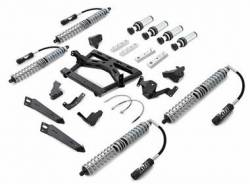 Suspension Lift Kits - Jeep Wrangler JK 07-18 - Rubicon Express - Rubicon Express Front/Rear Coilover Upgrade Kit with Airbumps, for 07-16 Jeep Wrangler JK