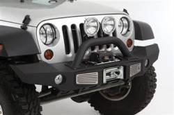 Jeep Wrangler JK 07-PRESENT - Front Bumpers & Stingers - Smittybilt - XRC Atlas Front Bumper 07-Pres Wrangler JK Smittybilt