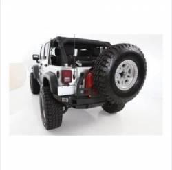 Smittybilt - Bumpers / Tire Carriers - Smittybilt - XRC Atlas Rear Bumper with Tire Carrier 07-Pres Wrangler JK Smittybilt