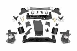 CHEVY / GMC - 2007-17 Chevy / GMC 1/2 Ton Pickup & SUV - Rough Country - Rough Country 6IN GMC SUSPENSION LIFT KIT (14-17 1500 DENALI PU 4WD W/MAGNERIDE) **CHOOSE FACTORY KNUCKLE TYPE** - 184-182