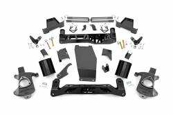 CHEVY / GMC - 2007-17 Chevy / GMC 1/2 Ton Pickup & SUV - Rough Country - Rough Country 7IN GMC SUSPENSION LIFT KIT (14-17 1500 DENALI PU 4WD W/MAGNERIDE) *CHOOSE FACTORY KNUCKLE TYPE* - 188-181