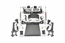 2005-16 Toyota Tacoma - Rough Country - Rough Country - Rough Country 4IN TOYOTA SUSPENSION LIFT KIT (2016 TACOMA 4WD)