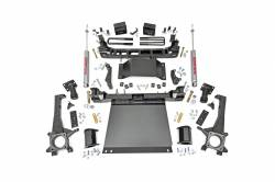 2005-16 Toyota Tacoma - Rough Country - Rough Country - Rough Country 6IN TOYOTA SUSPENSION LIFT KIT (2016 TACOMA 4WD)