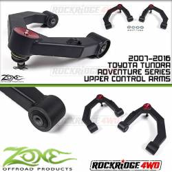 Zone Offroad - Suspension Components - Zone Offroad - Zone Offroad Adventure Series Upper Control Arms UCA for 07-16 Toyota Tundra 2wd/4wd - T2300