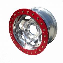 "TRAIL-GEAR - 17"" Aluminum Jeep/Ford 5x4.5"" Creeper Lock BeadLock Wheel (5 on 4.5"" w 3.75"" bs) - Choose Ring Color - 300862-2-KIT - Image 3"