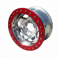"TRAIL-GEAR - 17"" Aluminum Jeep Wrangler JK Creeper Lock BeadLock Wheel (5 on 5.00"" w 3.75"" bs) - Choose Ring Color - 300219-2-KIT - Image 3"