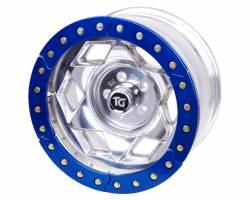 "TRAIL-GEAR - 17"" Aluminum Jeep Wrangler JK Creeper Lock BeadLock Wheel (5 on 5.00"" w 3.75"" bs) - Choose Ring Color - 300219-2-KIT - Image 2"