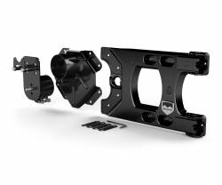 Jeep Wrangler JK 07-18 - Rear Bumpers & Tire Carriers - TeraFlex - TeraFlex Jeep Wrangler JK HD Hinged Carrier and Adjustable Spare Tire Mounting Kit - 4838150