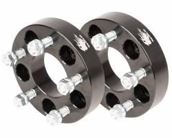 Wheel Spacers & Adapters - Jeep YJ, TJ, ZJ, XJ, MJ Comanche, 02-04 Liberty - TRAIL-GEAR - TRAIL-GEAR Jeep Wheel Spacer Kit  5x5.5 *Choose Size*  -140022-2-KIT,140001-2-KIT,140023-2-KIT