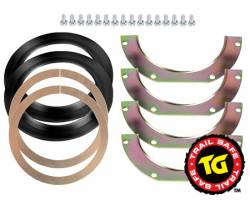 Ball Joints & Knuckle Service Kits - Toyota Knuckle Service Kits - TRAIL-GEAR - TRAIL-GEAR Trail Safe Knuckle Ball Wiper Seals   -140327-1-KIT