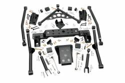"Jeep - Jeep WJ Grand Cherokee 99-04 - Rough Country - Rough Country 99-04 WJ Grand Cherokee 4"" Long Arm Upgrade Kit - 90900U"