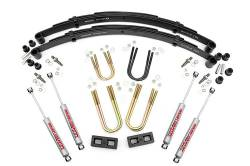 "Rough Country - Rough Country 1974-1990 4wd Grand Wagoneer / Cherokee 3"" Suspension Lift Kit with Rear Blocks   - 640.20"
