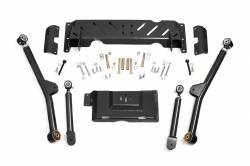 Jeep XJ Cherokee 84-01 - Rough Country - Rough Country - Rough Country 1984-01 Jeep XJ Cherokee Long Arm Upgrade kit for 4-6IN *Transfer Case NP231*  - 68900U