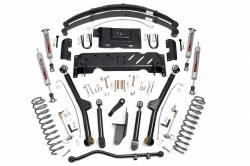 """Jeep XJ Cherokee 84-01 - Rough Country - Rough Country - Rough Country 1984-2001 4wd Jeep XJ 4.5"""" X-series Long Arm Suspension *Choose Options* - 60622-61422-61622-68922"""