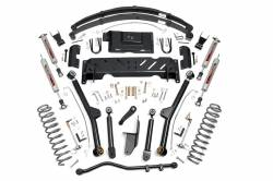 Jeep XJ Cherokee 84-01 - Rough Country - Rough Country - Rough Country 6.5IN JEEP LONG ARM SUSPENSION LIFT SYSTEM (84-01 XJ CHEROKEE) *Choose Engine & T-Case* - 60722-67222-61822