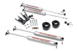 """Jeep XJ Cherokee 84-01 - Rough Country - Rough Country - Rough Country 1984-2001 Jeep XJ Cherokee 1.5"""" Suspension Lift Kit  - 680.20"""