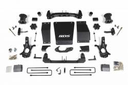 """4WD - 2014-2016 - BDS Suspension 6"""" Lift Systems for Magnetic Ride Control Equipped Models - 2014-2017 Chevy / GMC 1/2 Ton Pickup 4WD - 725H"""