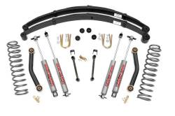 "Rough Country - Rough Country 1984-2001 Jeep XJ Cherokee 4.5"" Suspension with Rear Springs   -633N2"