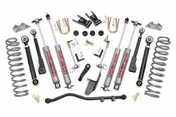 """Jeep MJ Comanchee 86-93 - Rough Country - Rough Country - Rough Country 1986-1993 Jeep MJ Comanche 6.5"""" Suspension Lift Kit - 69720"""