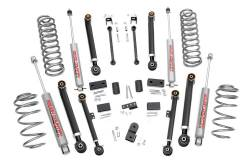"Jeep - Jeep ZJ Grand Cherokee 93-98 - Rough Country - Rough Country 1993-1998 Jeep ZJ Grand Cherokee X SERIES 4"" Suspension Lift Kit   - 68820"